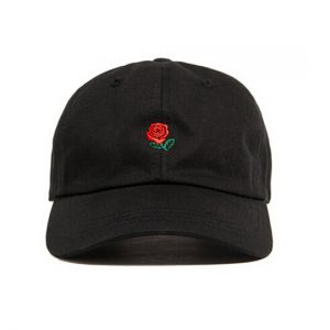 Brand-cap-Rose-embroidery-font-b-hat-b-font-font-b-kanye-b-font-West-bear