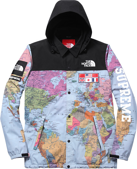 Supreme The North Face Coach Jacket BLVCKS STREET CULTURE