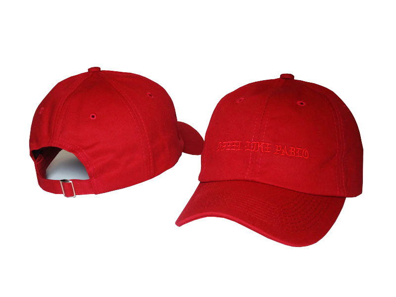 f0c76279677 Red-I-Feel-Like-Pablo-Hat-Kanye-West-The-Life-Of-Pablo-Merch-Yeezy-Season-3