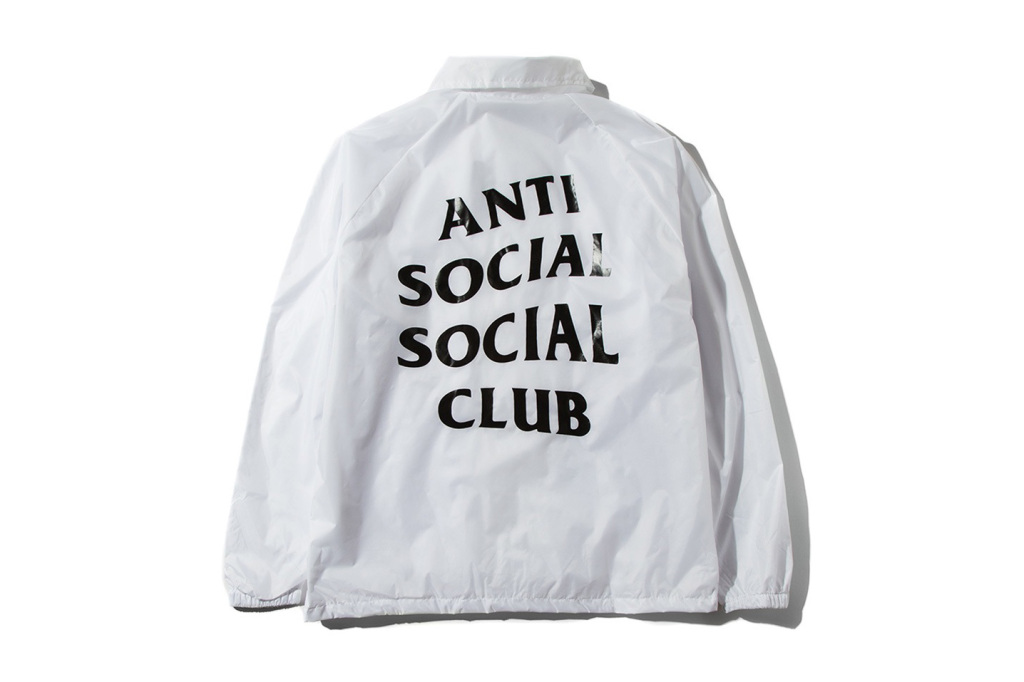 9440f92ed2f3 Anti Social Social Club Coach Jacket