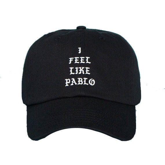 buy popular b0b0b 2bf2f i feel like pablo cap