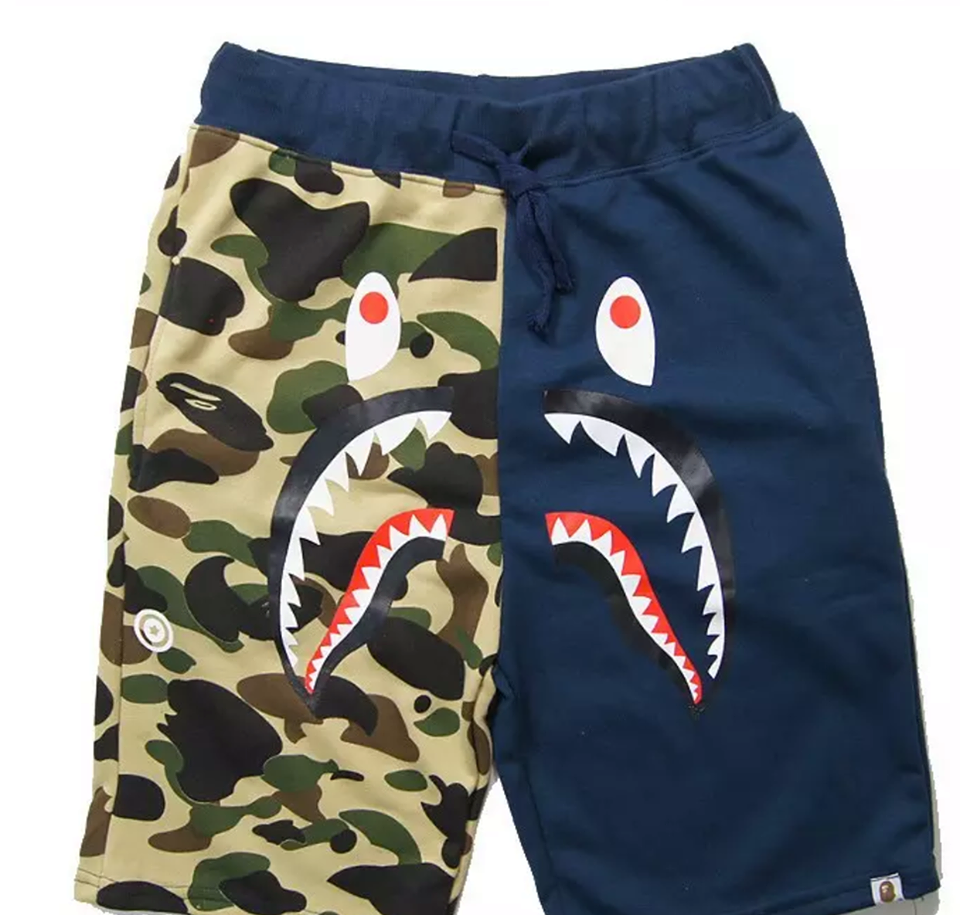 6494cd8214 Buy bape shark shorts best price!| Pants& Shorts Free Delivery