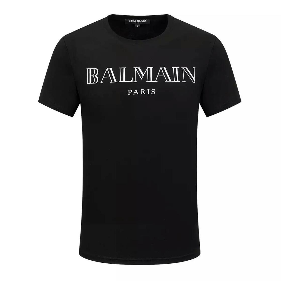 Buy Balmain T-Shirt - Men Balmain T-Shirts - SI. Men - Balmain T-Shirt - Men Balmain T-Shirts - SI. % Cotton DETAILS jersey, solid colour, round collar, short sleeves, print, no pockets ARE YOU LOOKING FOR THE PERFECT SIZE FOR YOU?