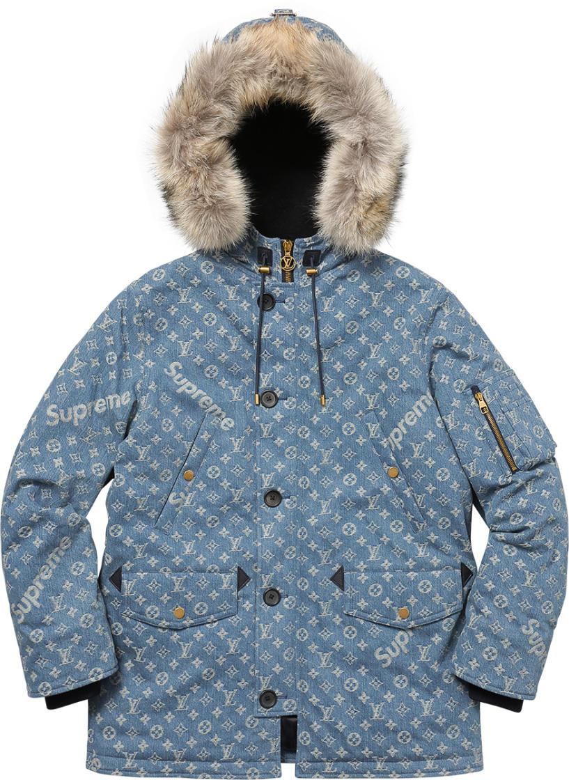 Louis vuitton supreme jacket