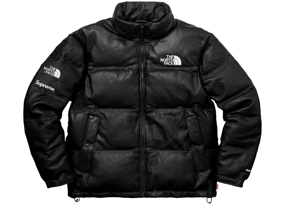 Supreme X The North Face Leather Jacket Best Price