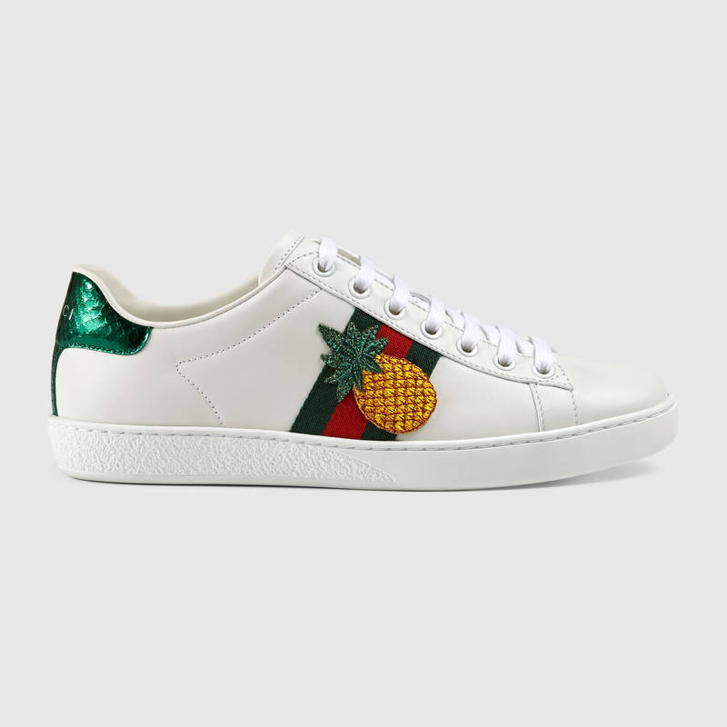 GUCCI PINEAPPLE LEATHER SHOES, best