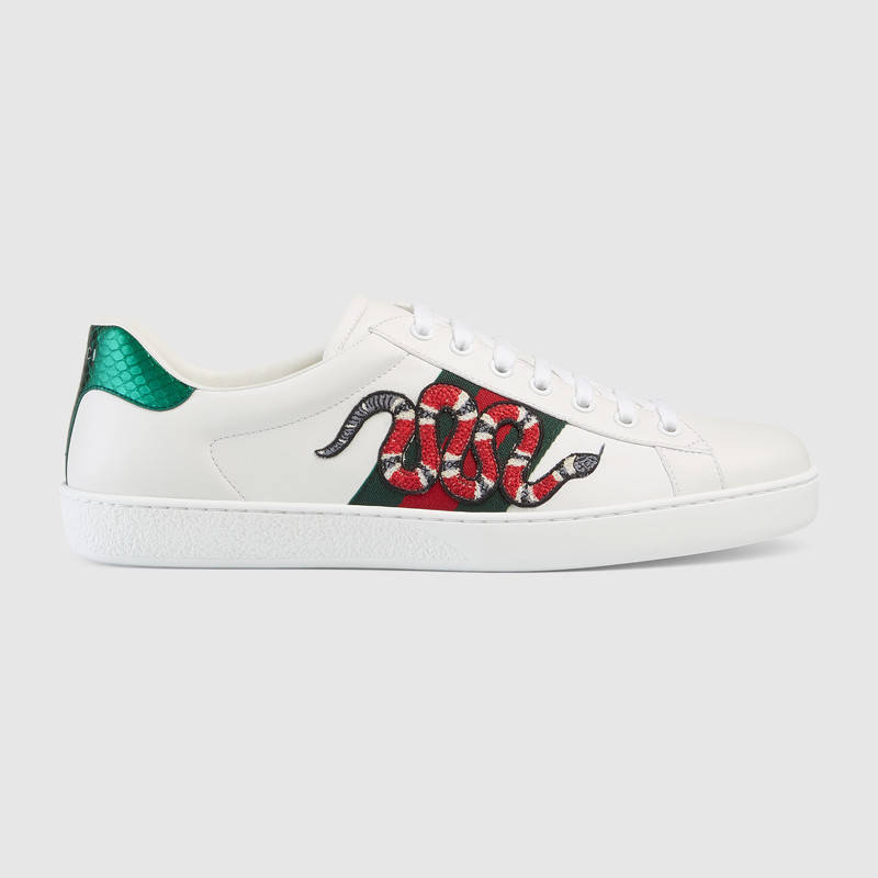 03f0dd24a650 Buy GUCCI SNAKE LEATHER SHOES best price!