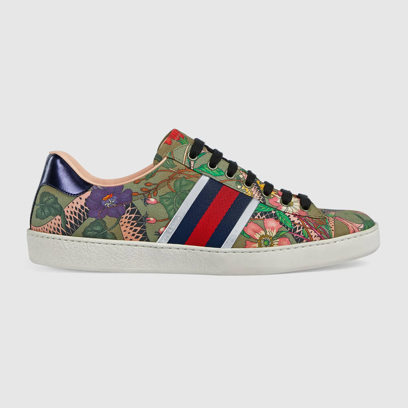 63d71cd6a Buy GUCCI SNAKE FLORAL SHOES best price!| Gucci Free Delivery