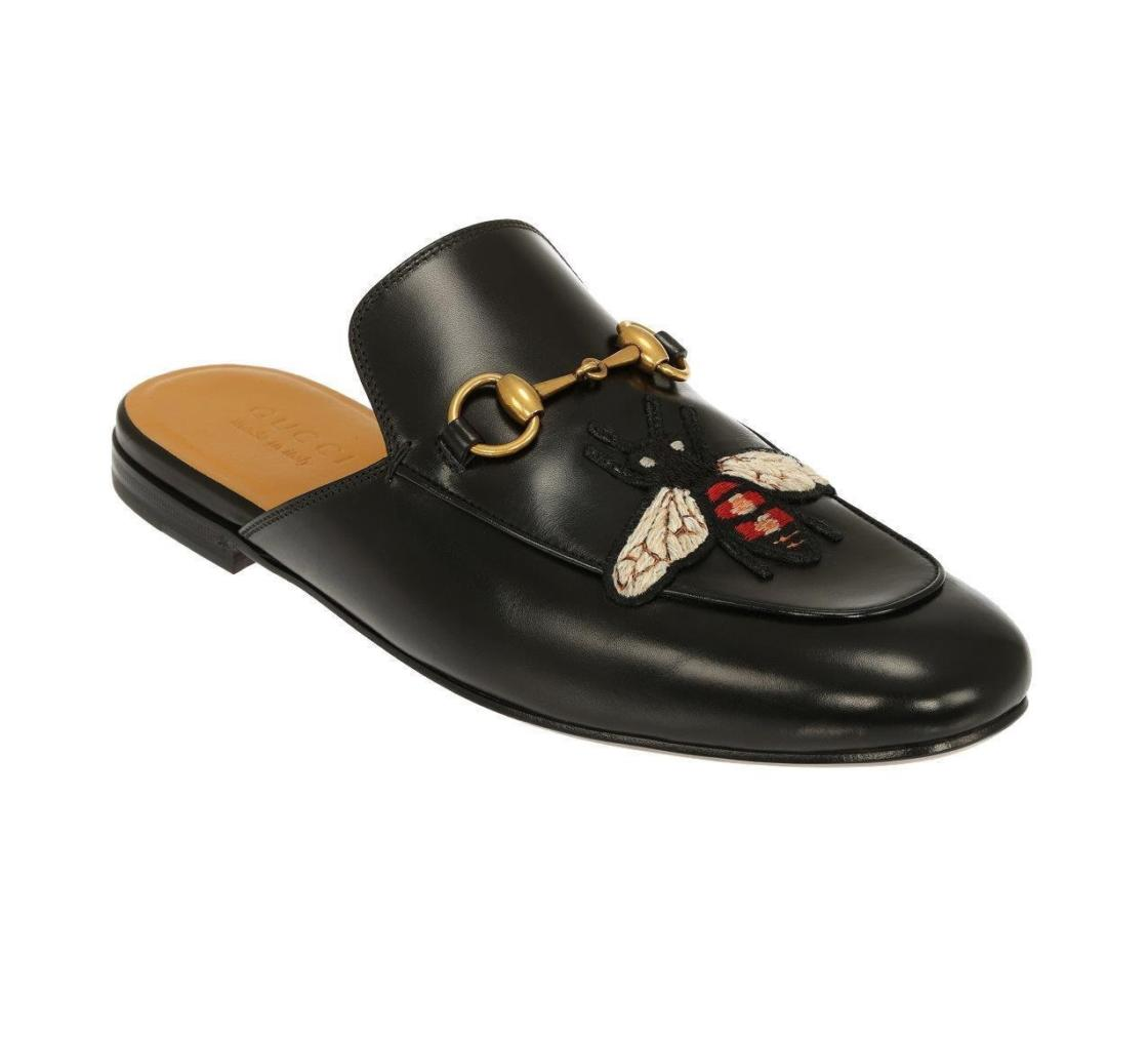 468d229fa GUCCI BEE SLIPPERS - BLVCKS STREET CULTURE