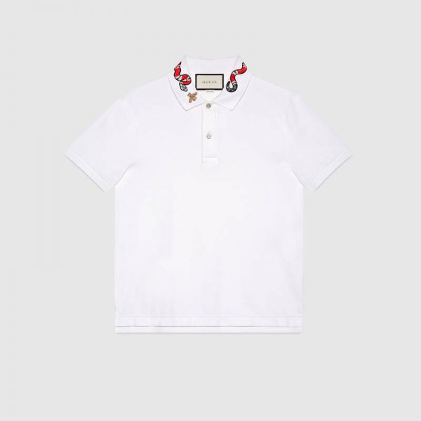 a322721f3 GUCCI KINGSNAKE POLO T-SHIRT, best price| Gucci, T-Shirt Free Delivery