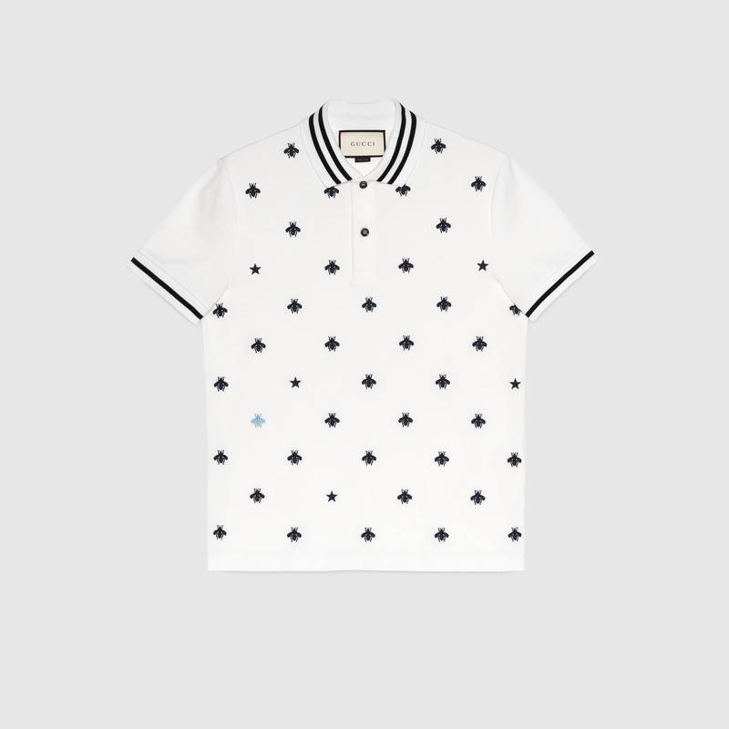 6a5246e5 GUCCI BEES AND STARS POLO T-SHIRT, best price| Gucci, T-Shirt Free ...