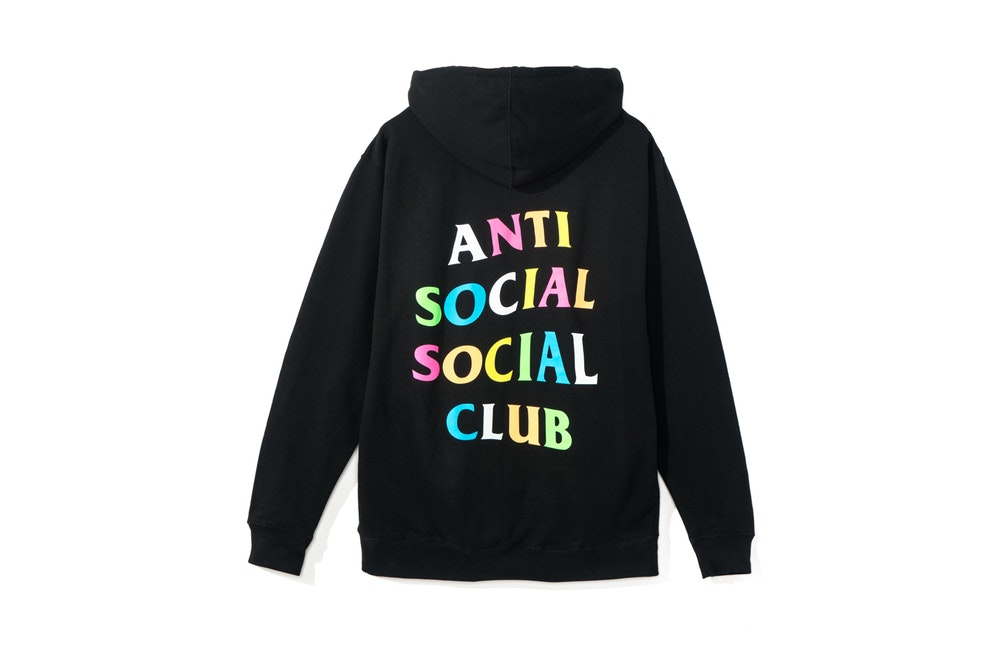 ANTI SOCIAL SOCIAL CLUB X FRENZY HOODIE Black hood