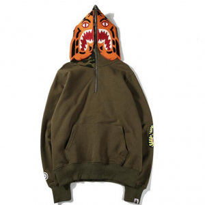 Bape Tiger Hoodie Brown Camo Supreme Fake Replica