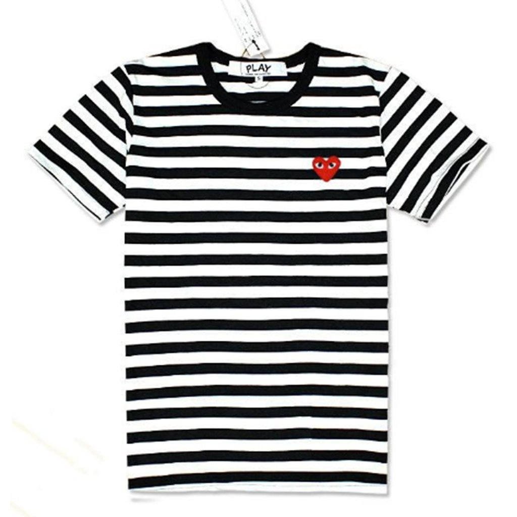 comme des garcons striped t shirt best price t shirt. Black Bedroom Furniture Sets. Home Design Ideas