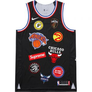 Supreme Supreme Nike NBA Teams Authentic Jersey black tee