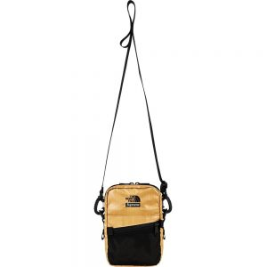 SUPREME X TNF METALLIC SHOULDER BAG - GOLD with black