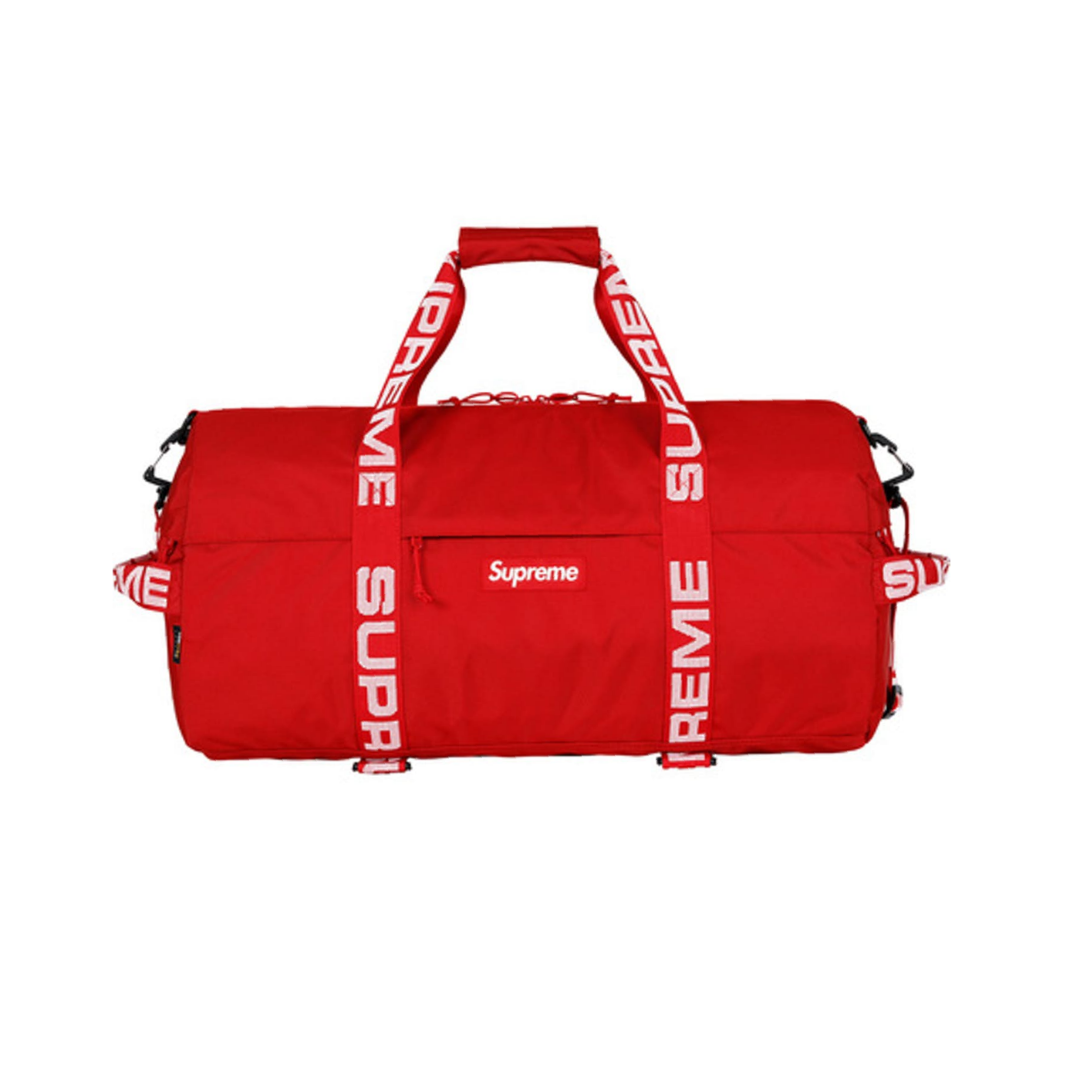 Supreme Duffle Bag (FW18) Red best replica