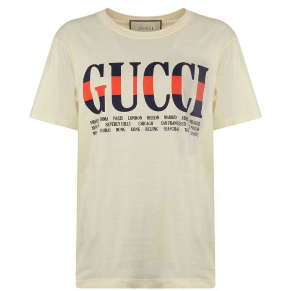 Gucci T-shit Free Delivery worldwide