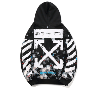 OFF-WHITE - GALAXY HOODIE with arrows