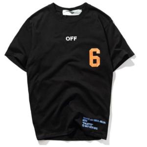 OFF-WHITE X KITH T-SHIRT black colour