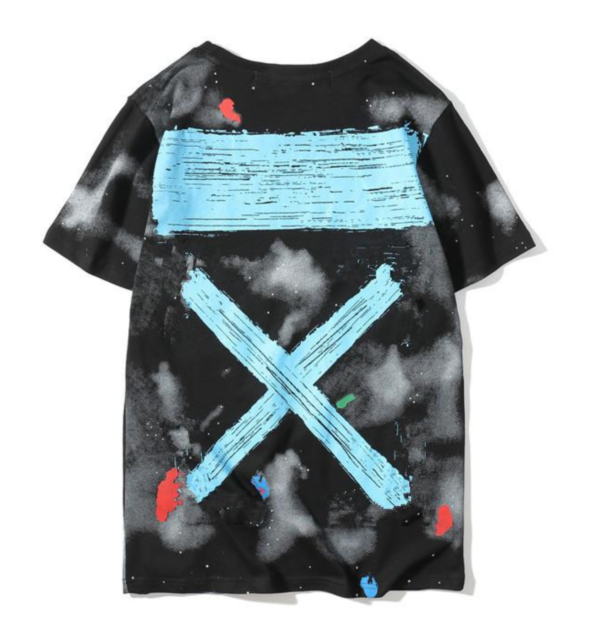 OFF-WHITE T-SHIRT Black Street culture