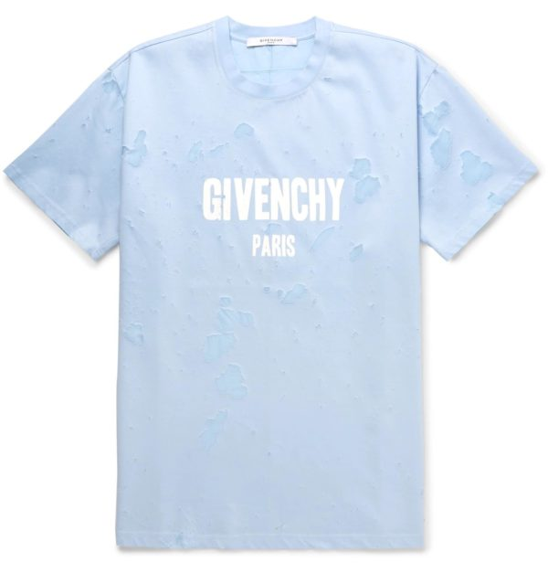 GUESS VINTAGE T-SHIRT givenchy light blue t-shirt