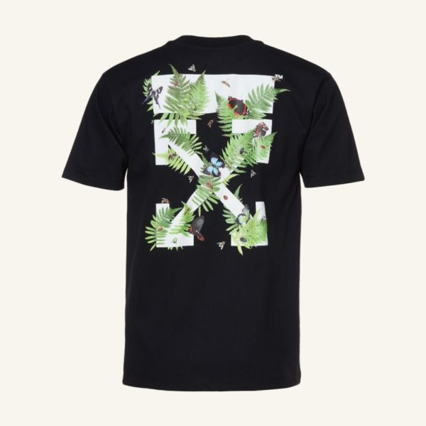 OFF-WHITE FERNS T-SHIRT Free Delivery worldwide