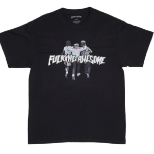 FUCKING AWESOME FRIENDS T-SHIRT - BLACK tee fake