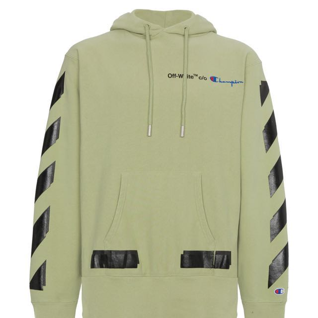 new products for official sale reasonable price OFF-WHITE X CHAMPION HOODIE